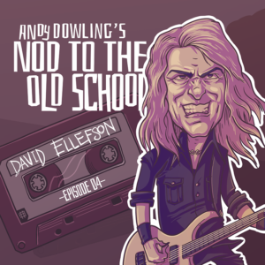 David Ellefson - Megadeth - Sleeping Giants - More Life With Deth - Andy Dowling - Nod to the Old School