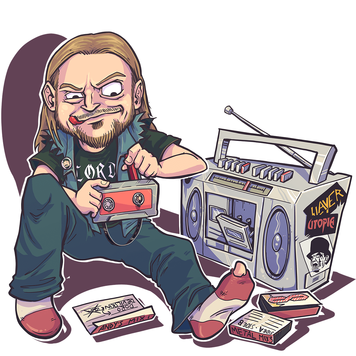 Andy Dowling - LORD - Fallen Idols - Nod To The Old School Podcast